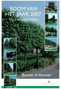 Boom van het jaar 2007